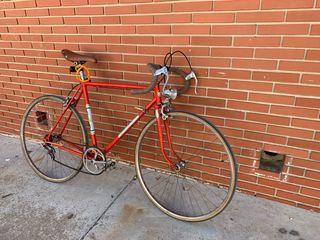 Bicicleta clásica retro.