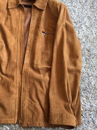 Cazadora tipo americana Caramelo PIEL talla 62