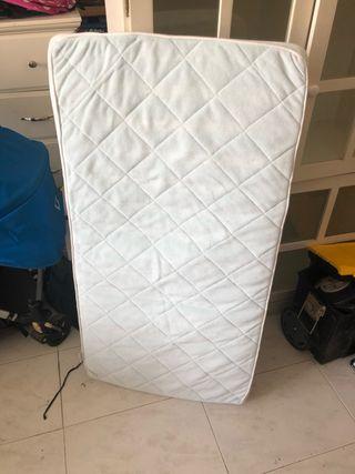 Colchón para cuna de esponja 140x70