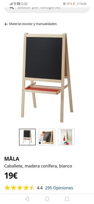 pizarra Ikea