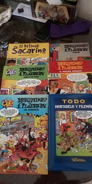 Libros. Cómics de Mortadelo y Filemon