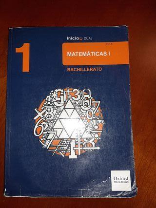 libro de matemáticas 1° bachillerato ciencias