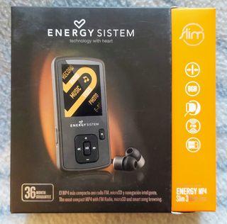 MP4 / MP3 de 8Gb (Energy Sistem) con Radio FM