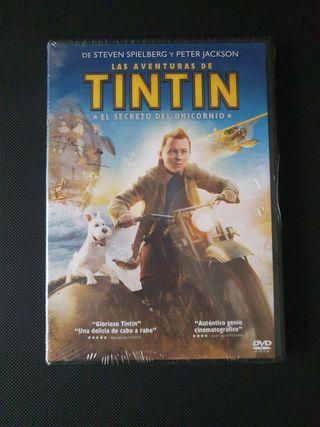 DVD - Tintin - El Secreto del Unicornio