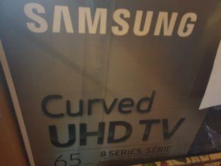 televisor Samsung 65 UHD 4k curvo Smart tv