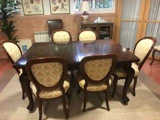 Mesa de Comedor Victoriana