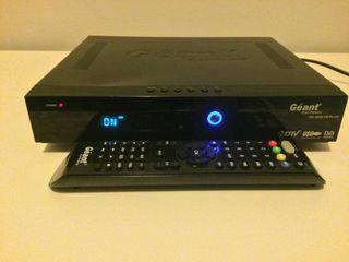 Receptor de TV por satélite