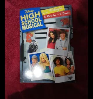 Pack 3 peliculas high school music