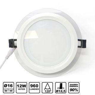 Downlight LED redondo 12W