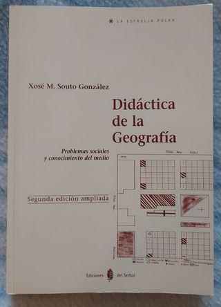 """""""Didáctica de la Geografía"""" de Xosé M. Souto"""