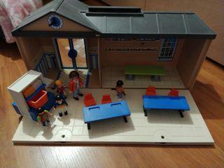 Escuela Maletín Playmobil
