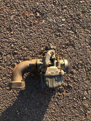 Carburador mikuni 21mm y tobera pit bike