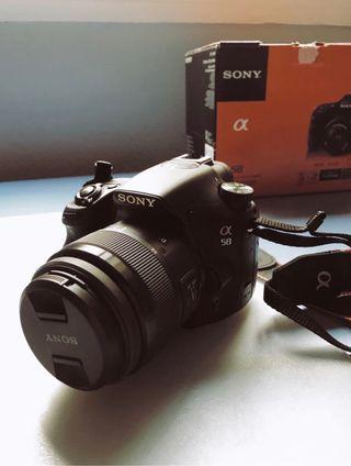 Cámara Réflex - Sony Alfa 58