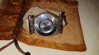 reloj swatch 2002 sin estrenar de plata 925