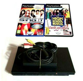 Videoconsola Ps2 PlayStation Slim + Lote De Regalo