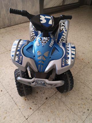 quad para niños, de bateria