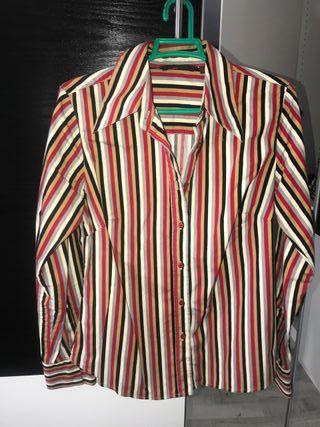 Camisa rayas Zara mujer