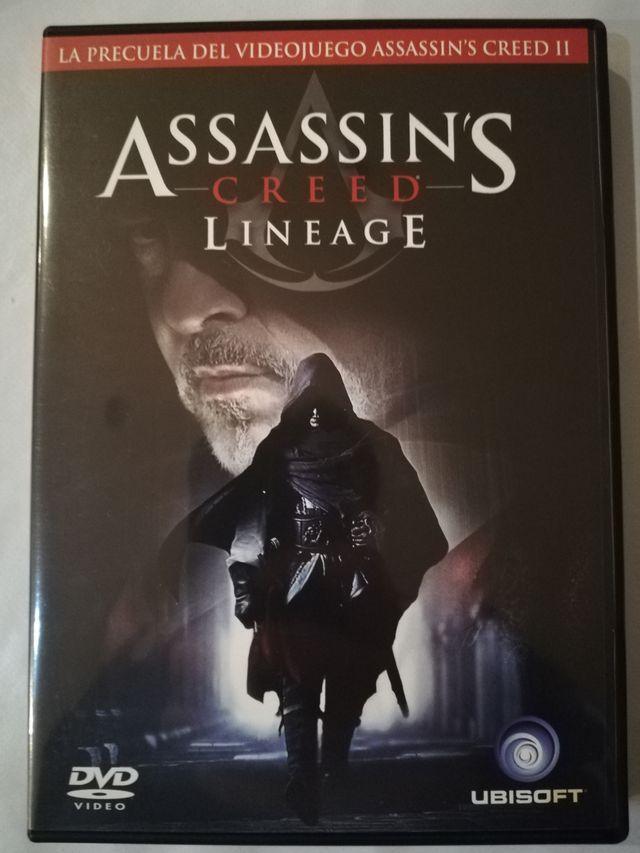 Assassins Creed Lineage Dvd De Segunda Mano Por 3 En Barcelona