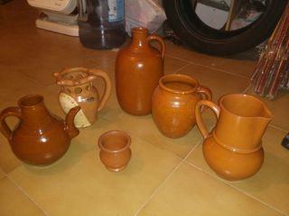 Lote vasijas antiguas