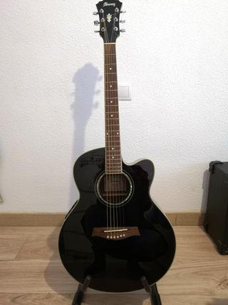 Guitarra Ibáñez electroacústica AEL10EBK 1202