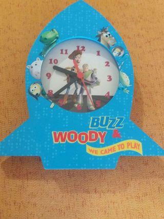"Reloj pared ""Toy Story"""