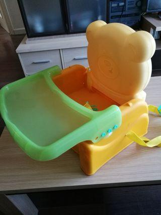 Trona portátil bebé