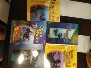 libros buceo