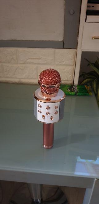 micrófono con bluetooth. sd y usb