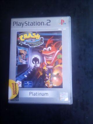 PS2 crash bandicoot.la venganza de cortex