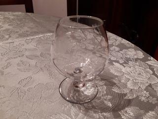 Copas de cristal tallado
