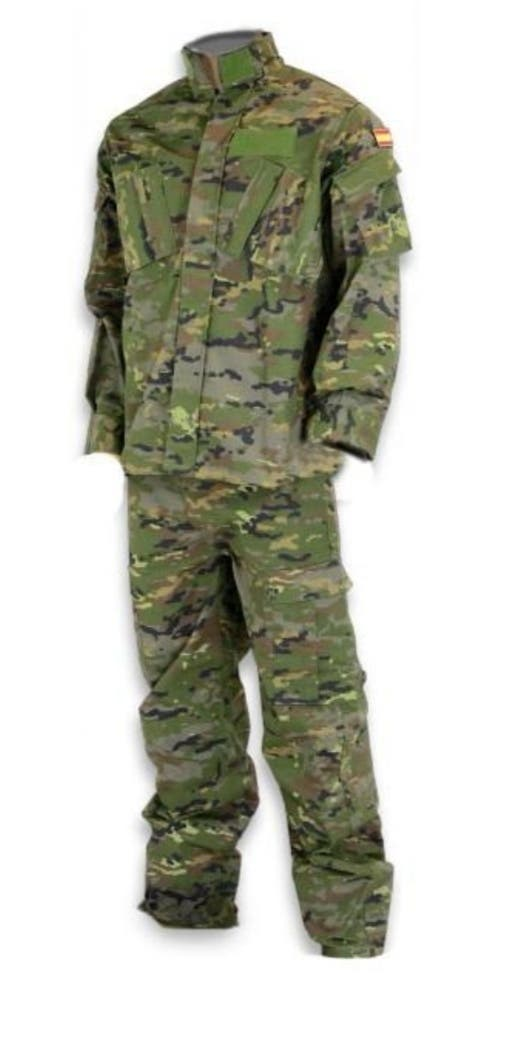 ropa militar