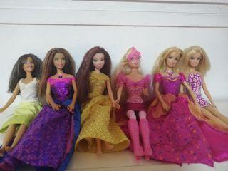 Pack de muñecas Barbies
