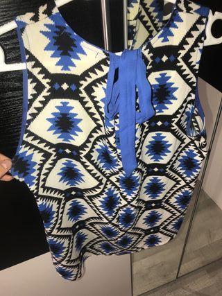 Camisa mujer lazo
