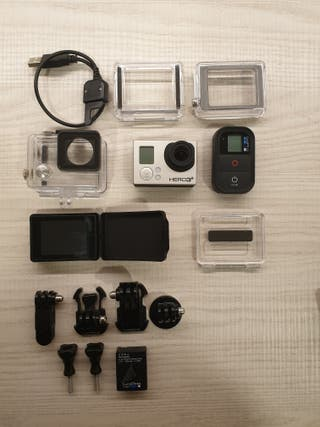 GoPro Hero 3+Black Edition y accesorios