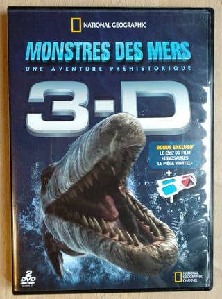 Película Monstres des Mers 2 DVD + gafas