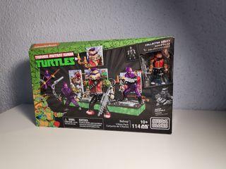 Mega blocks Tortugas ninja collectors