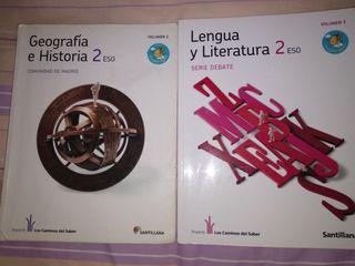 Libros de texto. 2 ESO
