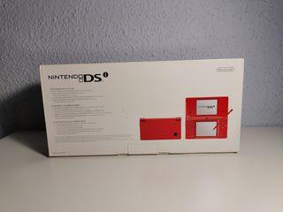 Caja Nintendo Dsi roja
