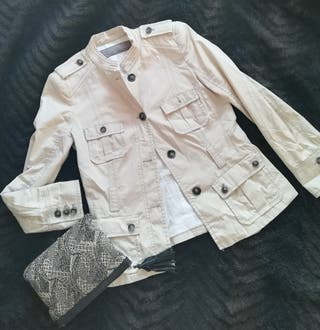 blazer sahariana de Zara
