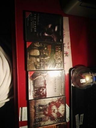 Packs de Películas terroríficas en DVD