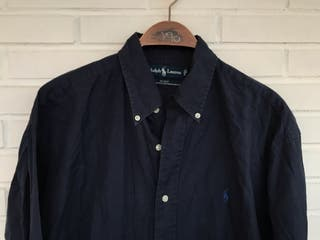 Camisa azul marino POLO RALPH LAUREN talla L