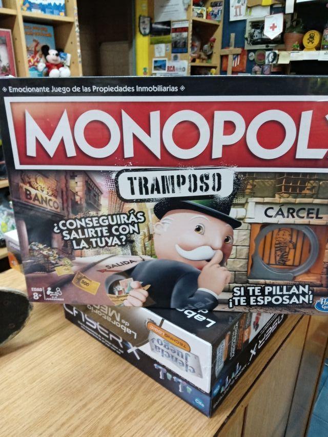 Juego Monopoly tramposo