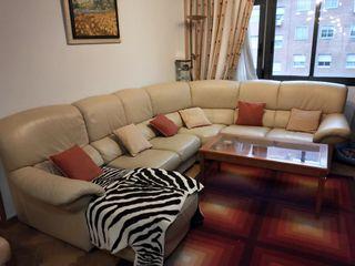 Sofa Rinconera de Piel Mart