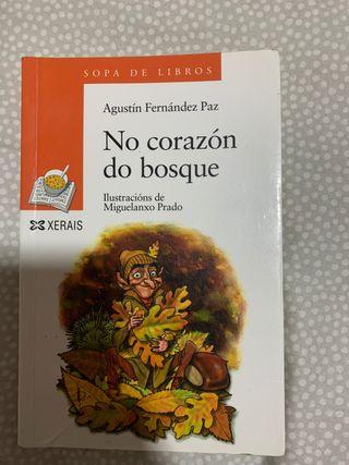 Libro No corazón do bosque