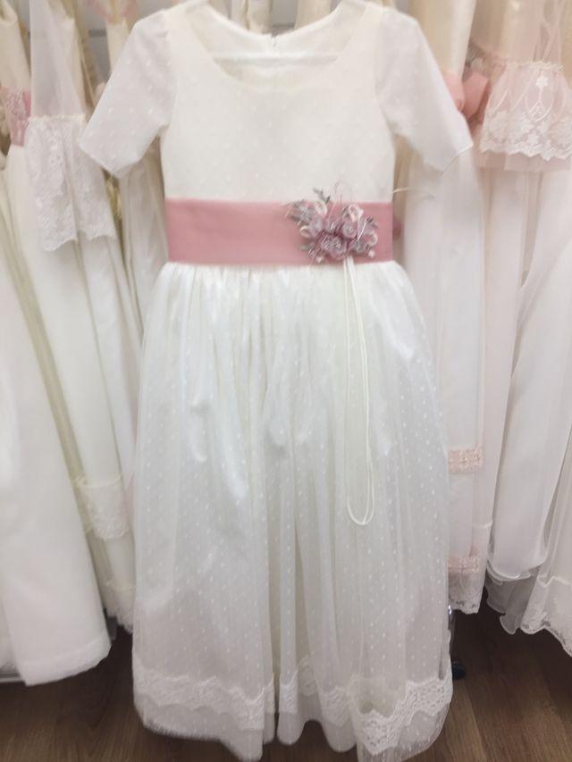 Vestido comunión talla 10 por 150€