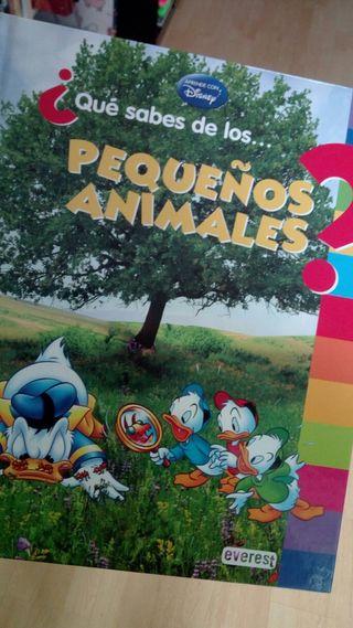 "Libro infantil ""Pequeños animales"""