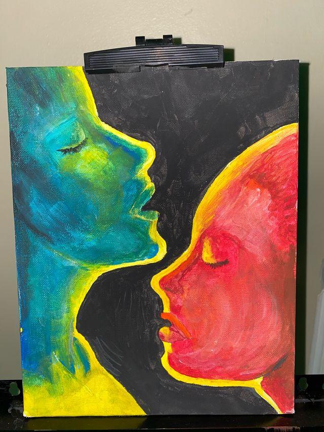 Art work. Unwanted love.