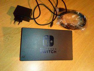 DOCK + HDMI + CARGADOR SWITCH