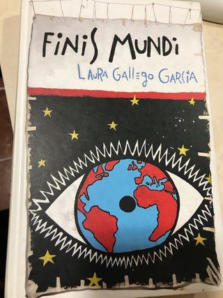 Libro Finis Mundi. Laura Gallego García