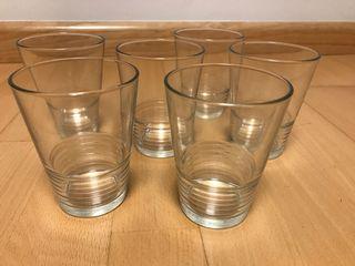 Vasos Cristal transparente